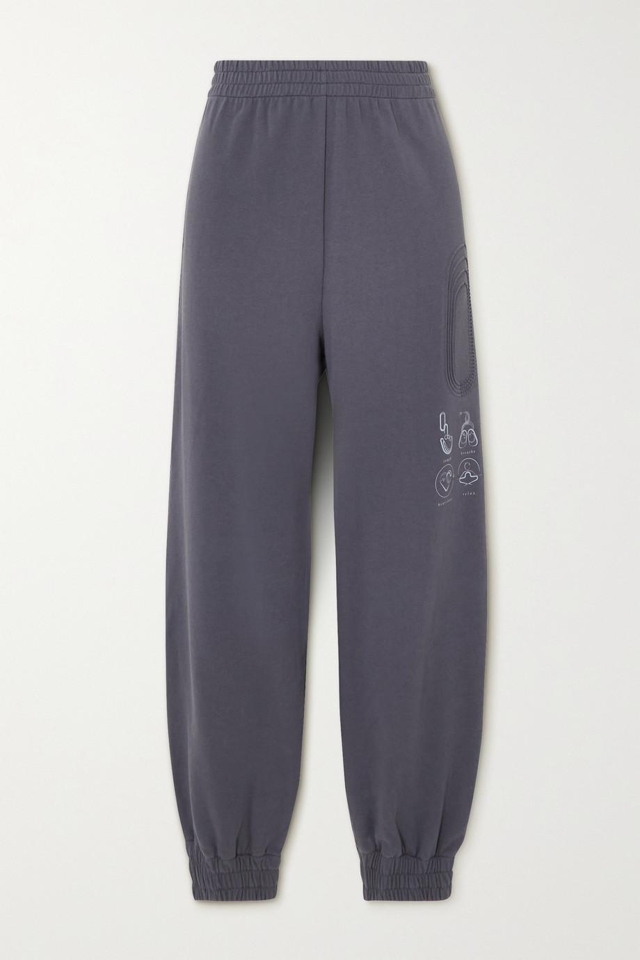MCQ Breathe Jogginghose aus Baumwoll-Jersey mit Print und Prägung