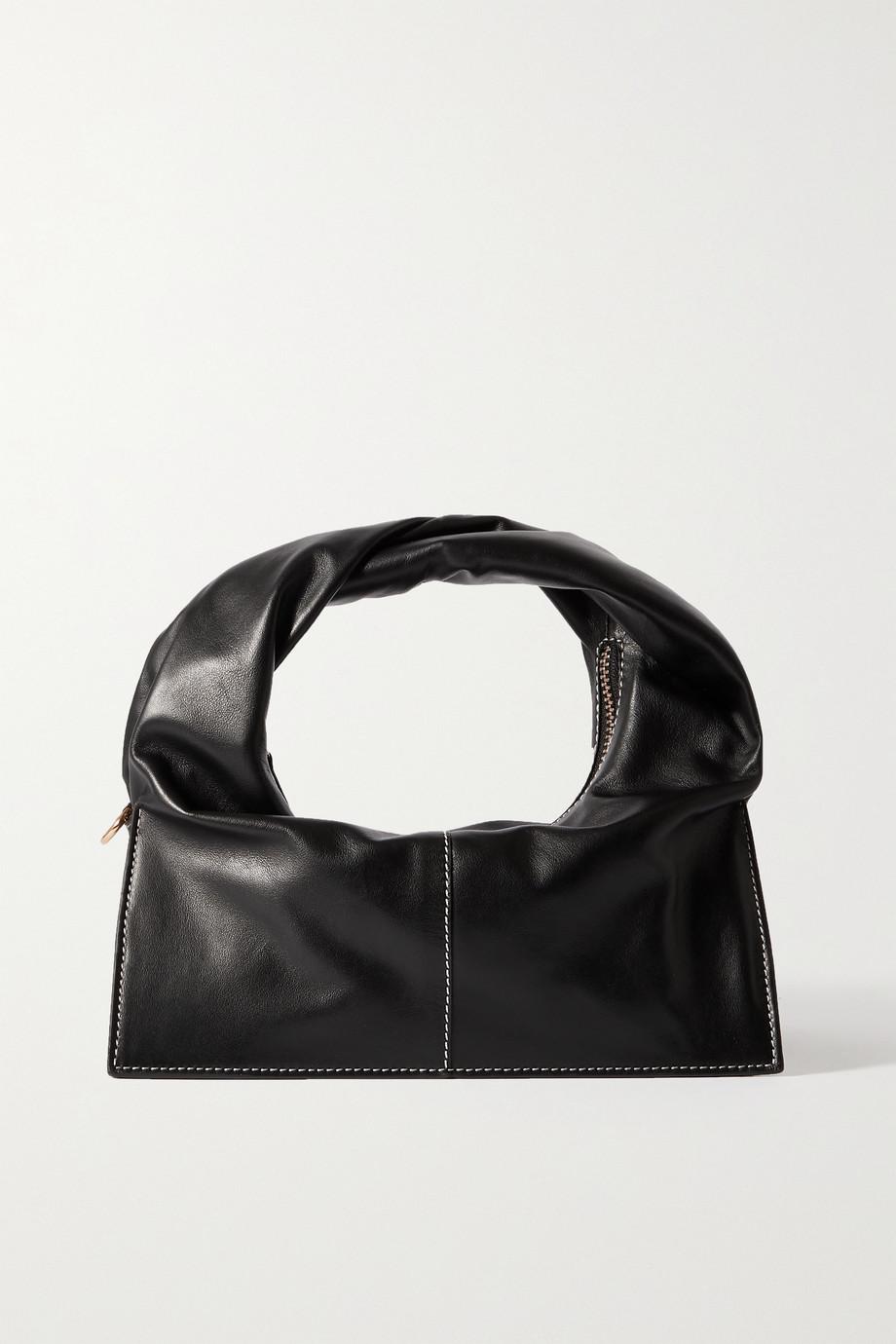 Yuzefi Wonton leather tote