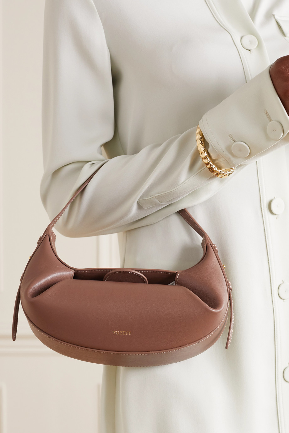 Yuzefi Sac à main en cuir Fortune Cookie Mini