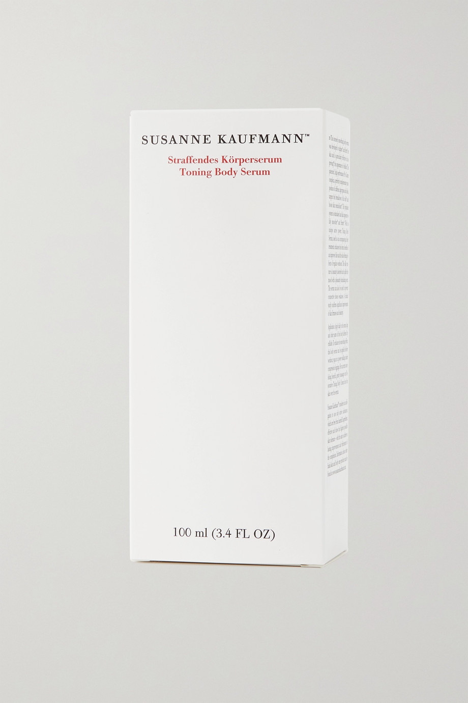 Susanne Kaufmann Toning Body Serum, 100ml