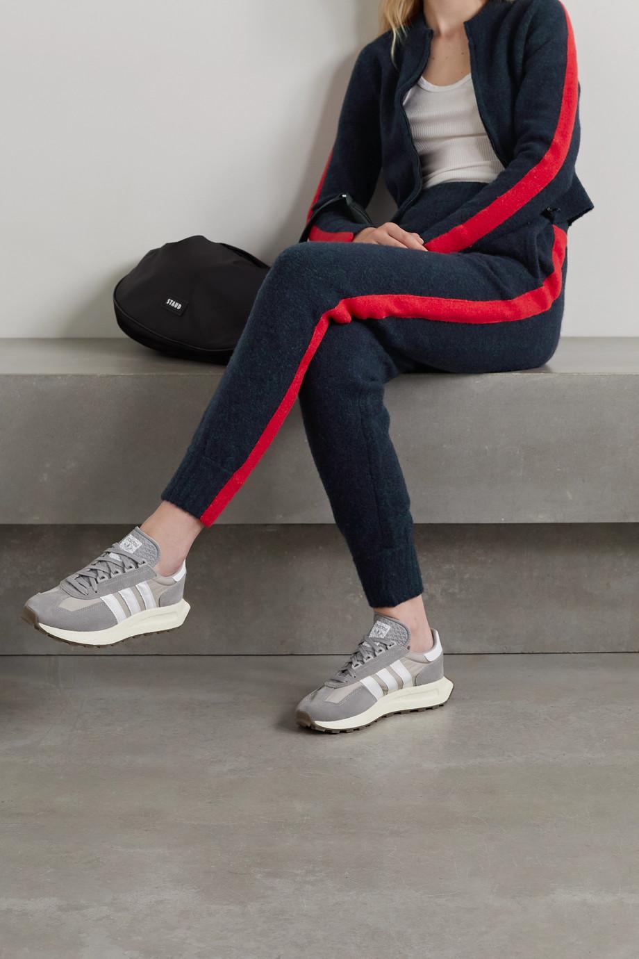Bella Freud Lauryn Jogginghose aus Strick mit Streifen