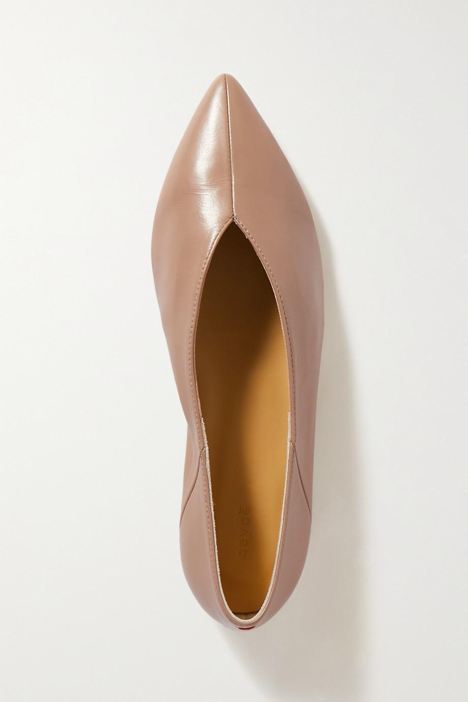 aeyde Moa Ballerinas aus Leder