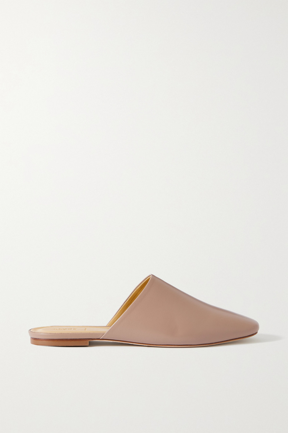 aeyde Kelly leather slippers