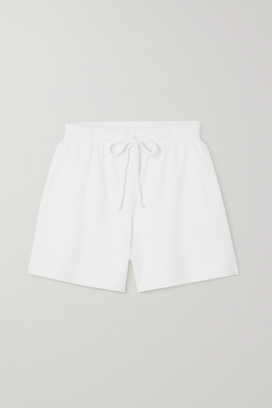 Year of Ours Boyfriend cotton-jersey shorts