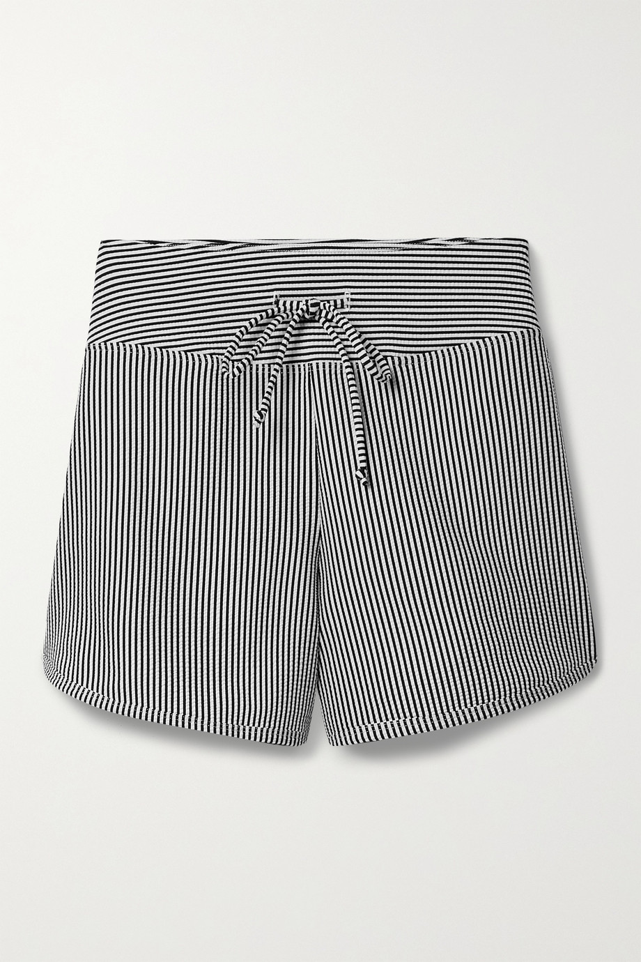 Year of Ours Striped seersucker shorts