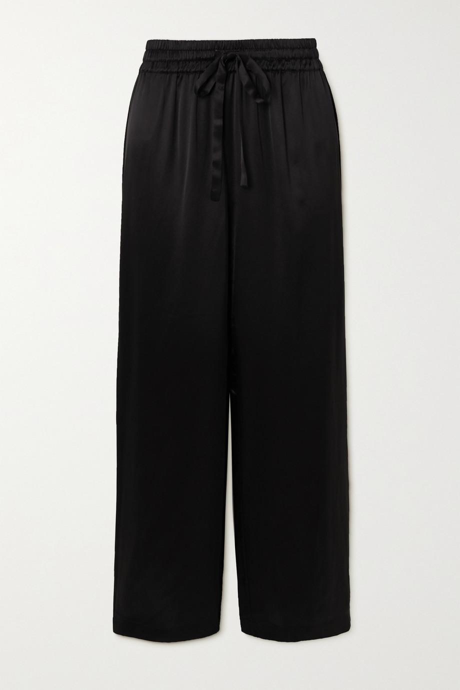 Maison Essentiele Jasmine silk-satin pajama pants