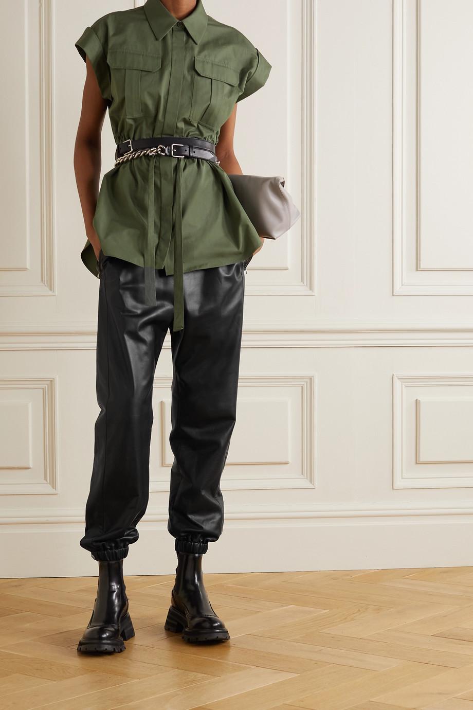 Alexander McQueen Jogginghose aus Leder