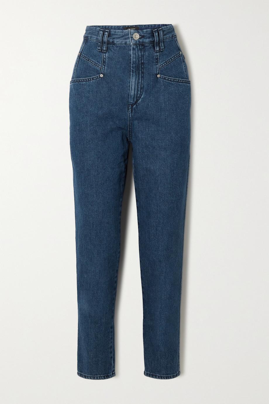 Isabel Marant Dipadela high-rise tapered jeans