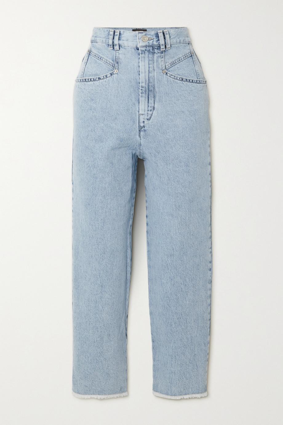 Isabel Marant Dilali cropped straight-leg jeans