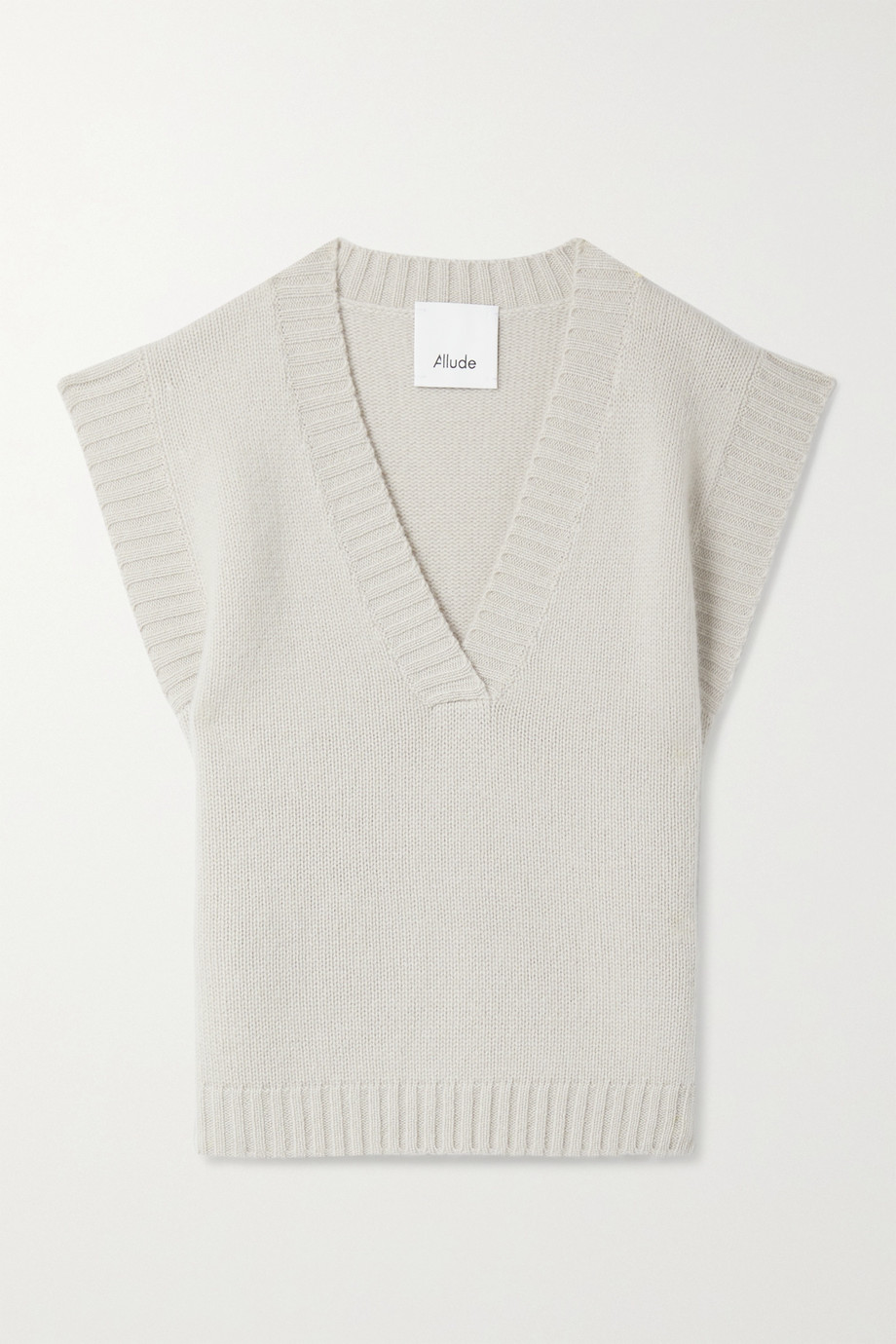 Allude Pull sans manches en cachemire