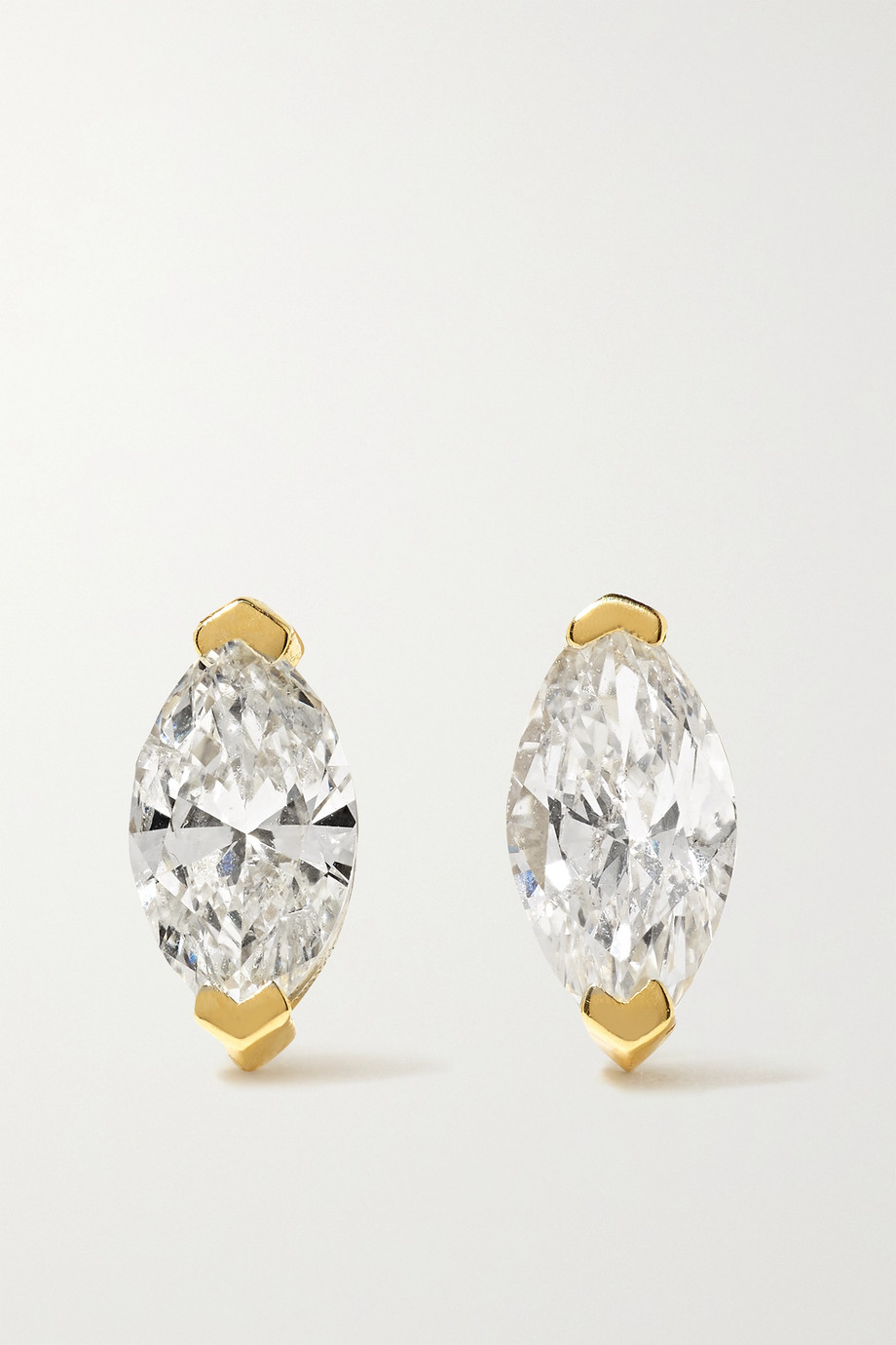 SHAY Ohrstecker aus 18Karat Gold mit Diamanten