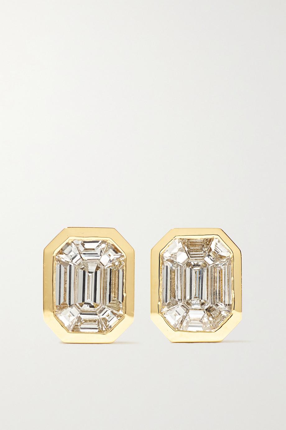 SHAY Boucles d'oreilles en or 18carats et diamants