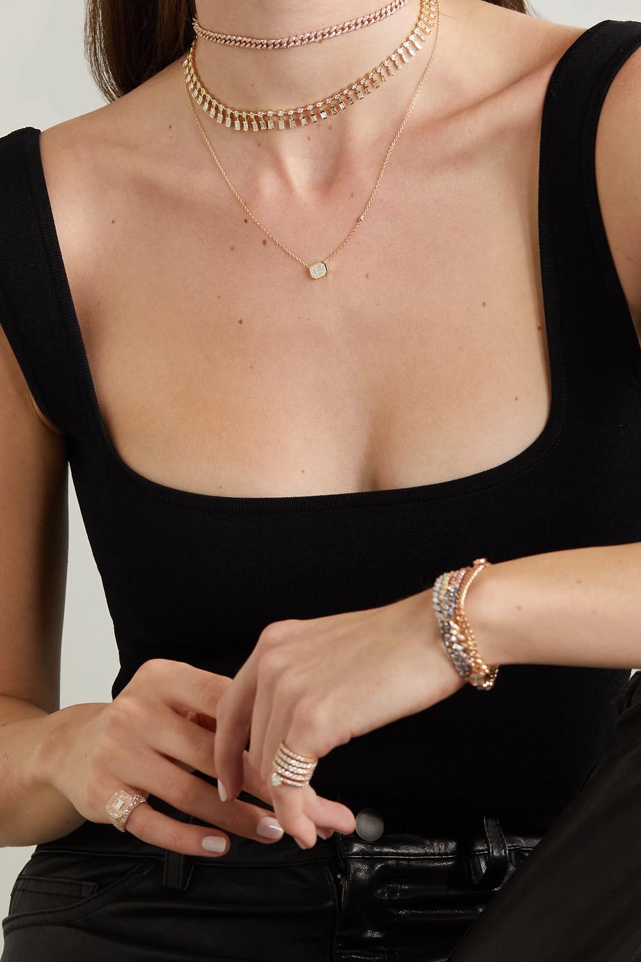 SHAY Collier en or 18 carats et diamants