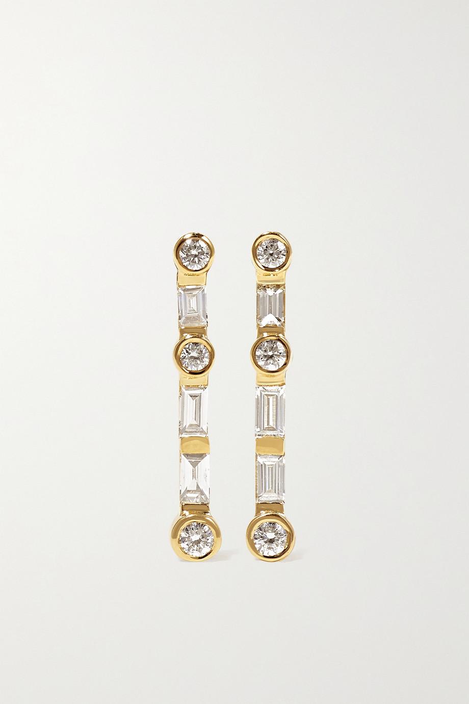 SHAY Ohrringe aus 18Karat Gold mit Diamanten