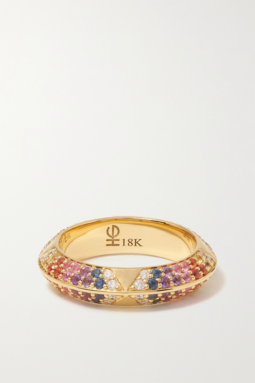 Harwell Godfrey - 18-karat gold, sapphire and diamond ring