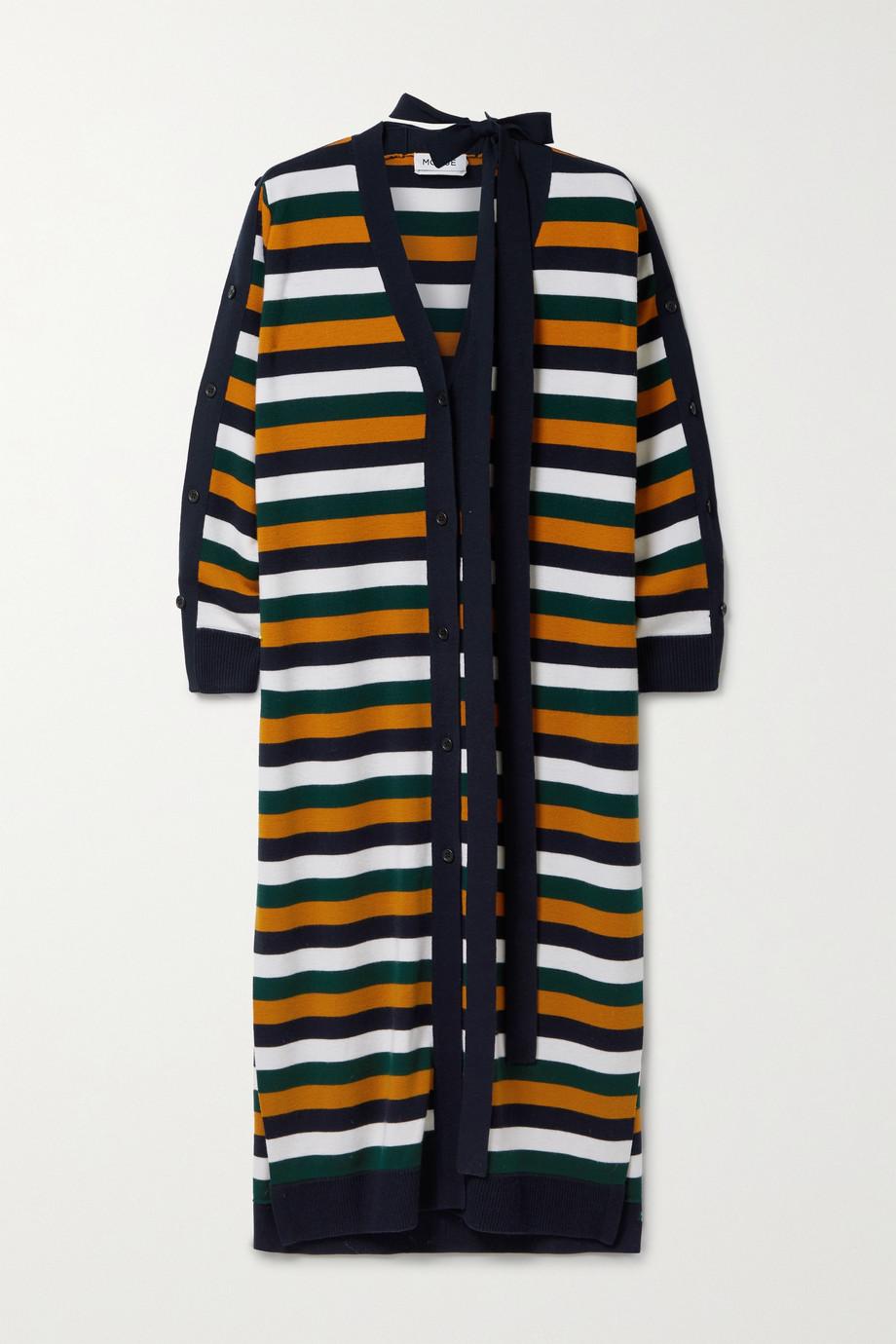 Monse Cardigan en laine mérinos à rayures