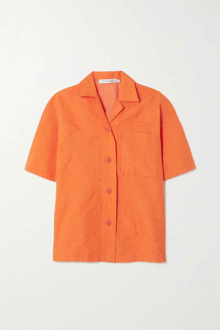 Christopher Esber Palm Tree cloqué shirt
