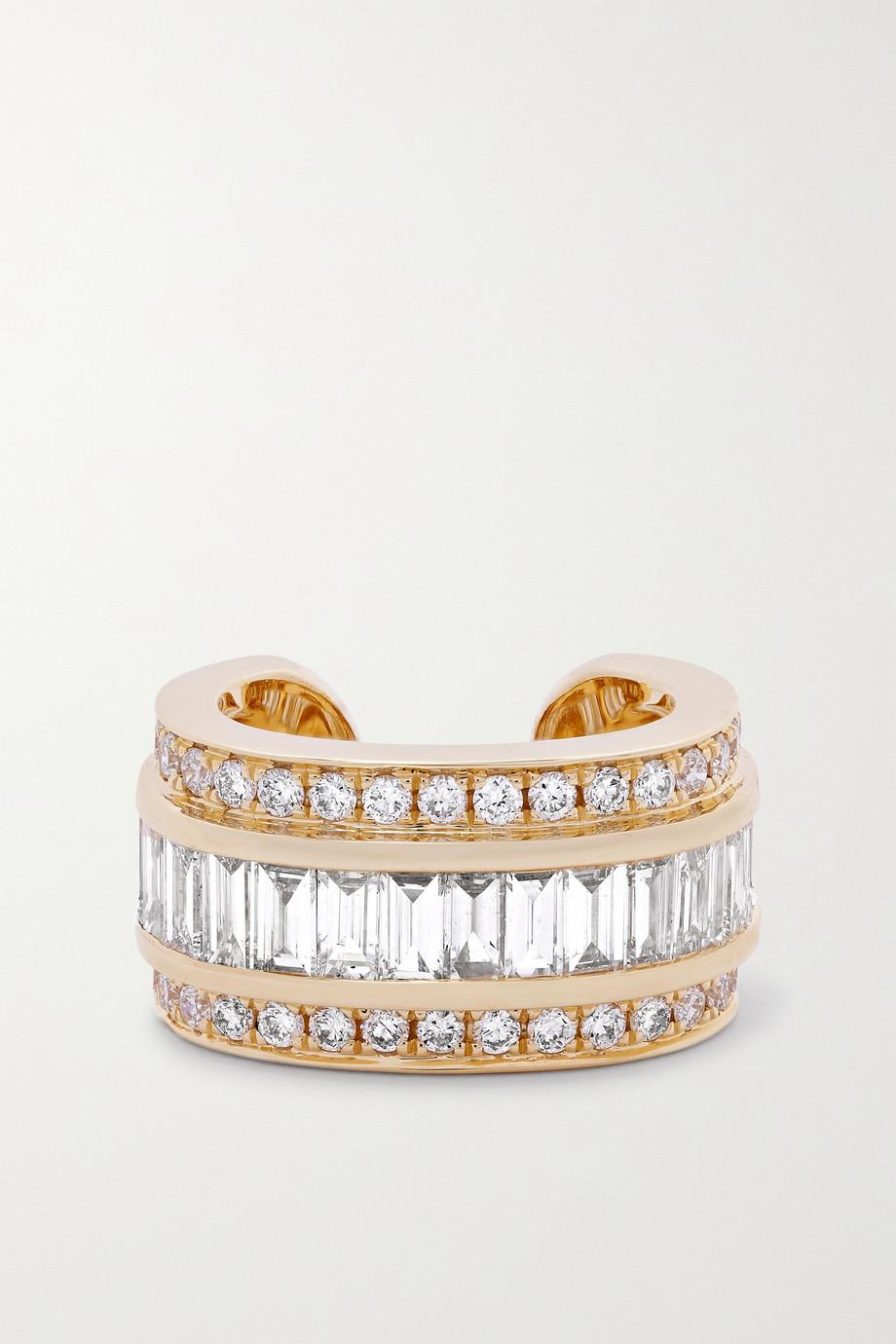 Anita Ko Einzelnes Ear Cuff aus 18 Karat Gold mit Diamanten
