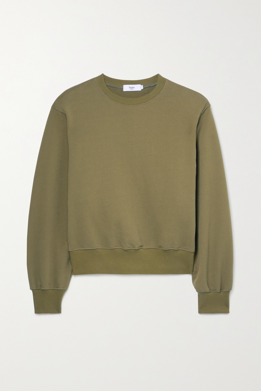 Frankie Shop - Vanessa cotton-jersey sweatshirt
