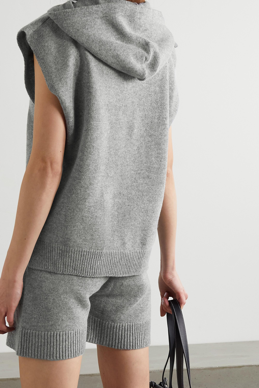 Frankie Shop Pull à capuche en laine mélangée Juno