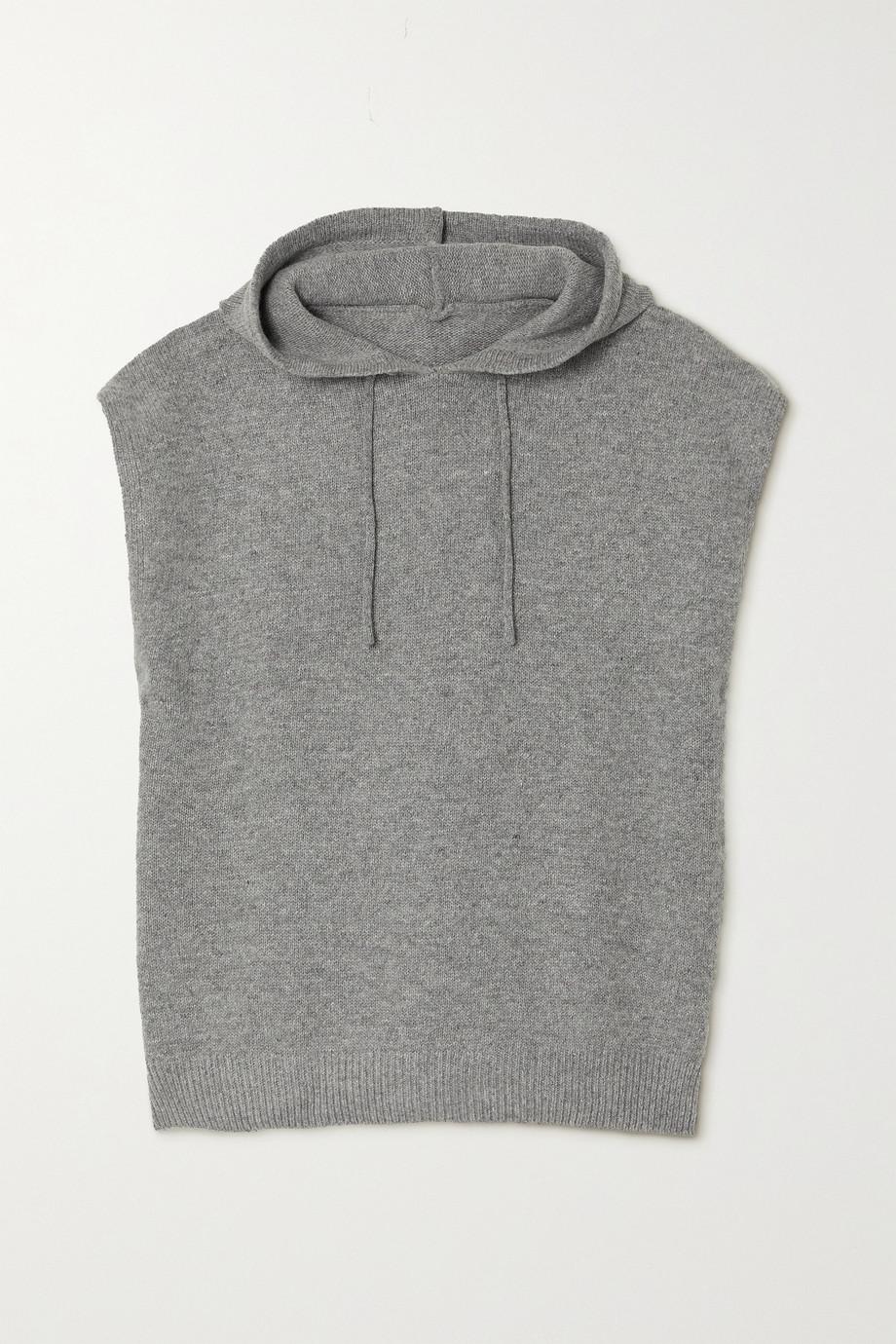 Frankie Shop Juno wool-blend hoodie