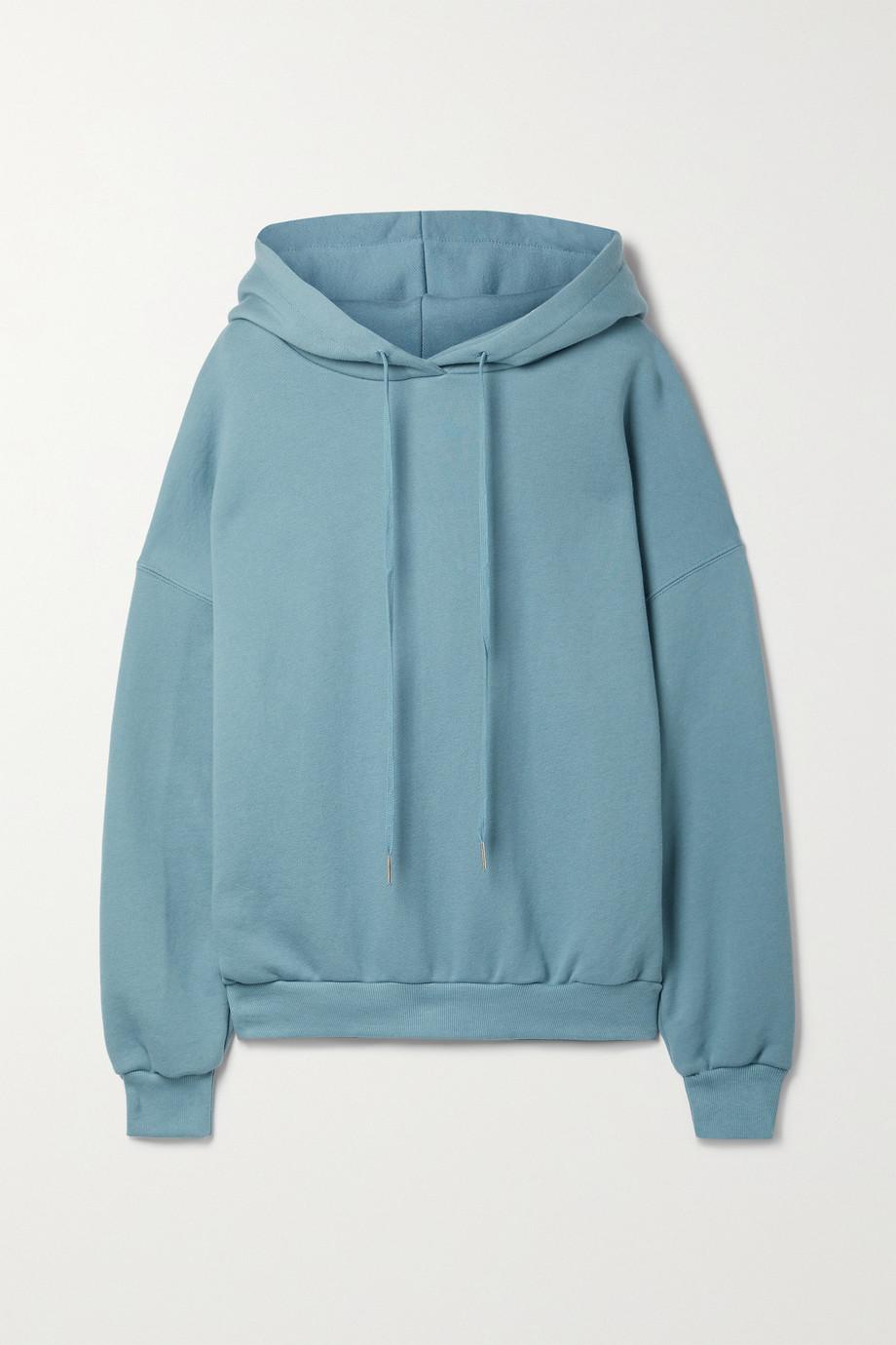 Frankie Shop Sweat à capuche en jersey de coton biologique Vanessa