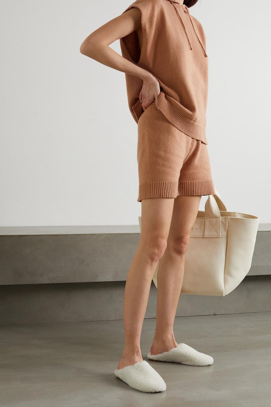 Frankie Shop Short en laine mélangée Juno