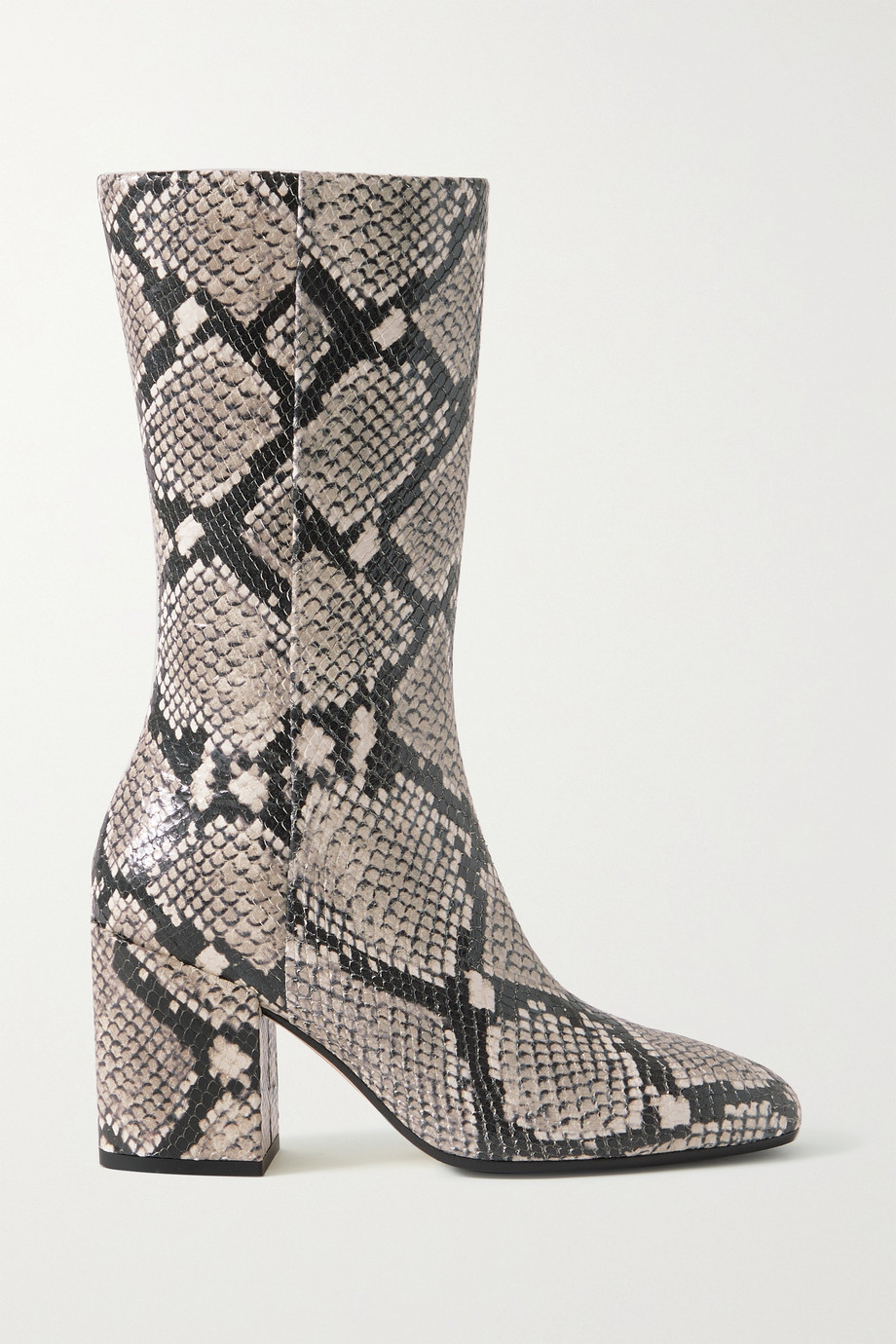 aeyde Lori snake-effect leather boots