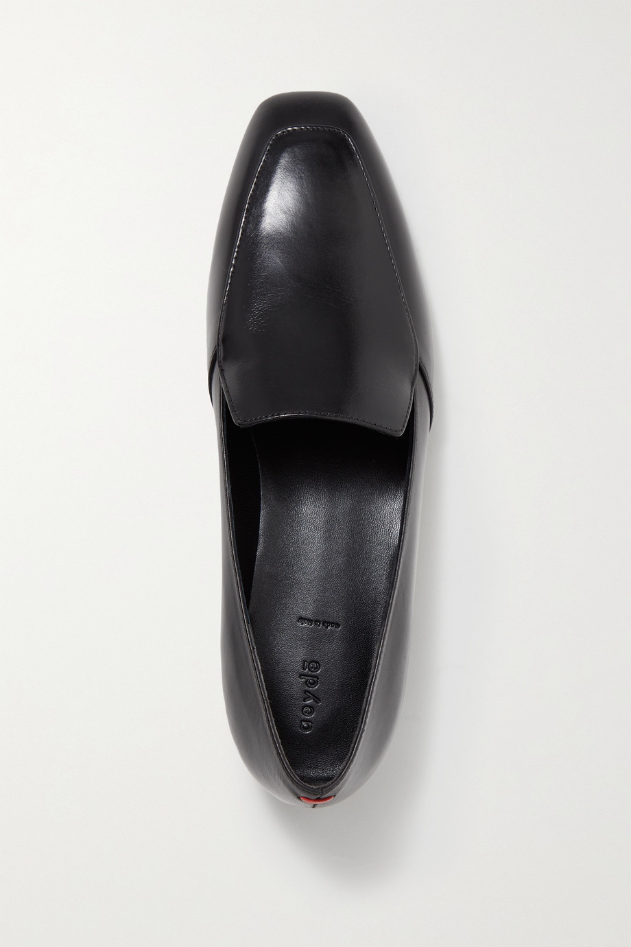 aeyde Angie leather loafers
