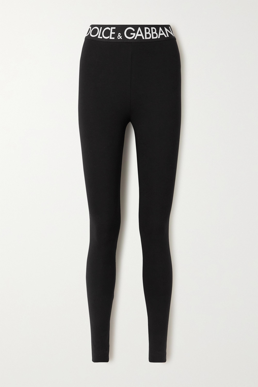 Dolce & Gabbana - Stretch-cotton jersey leggings