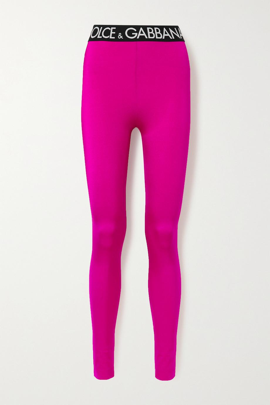 Dolce & Gabbana Legging en jersey stretch Pop