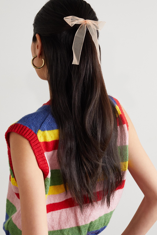 LELET NY Set of three tulle hair clips
