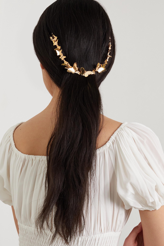 LELET NY Gold-tone headpiece