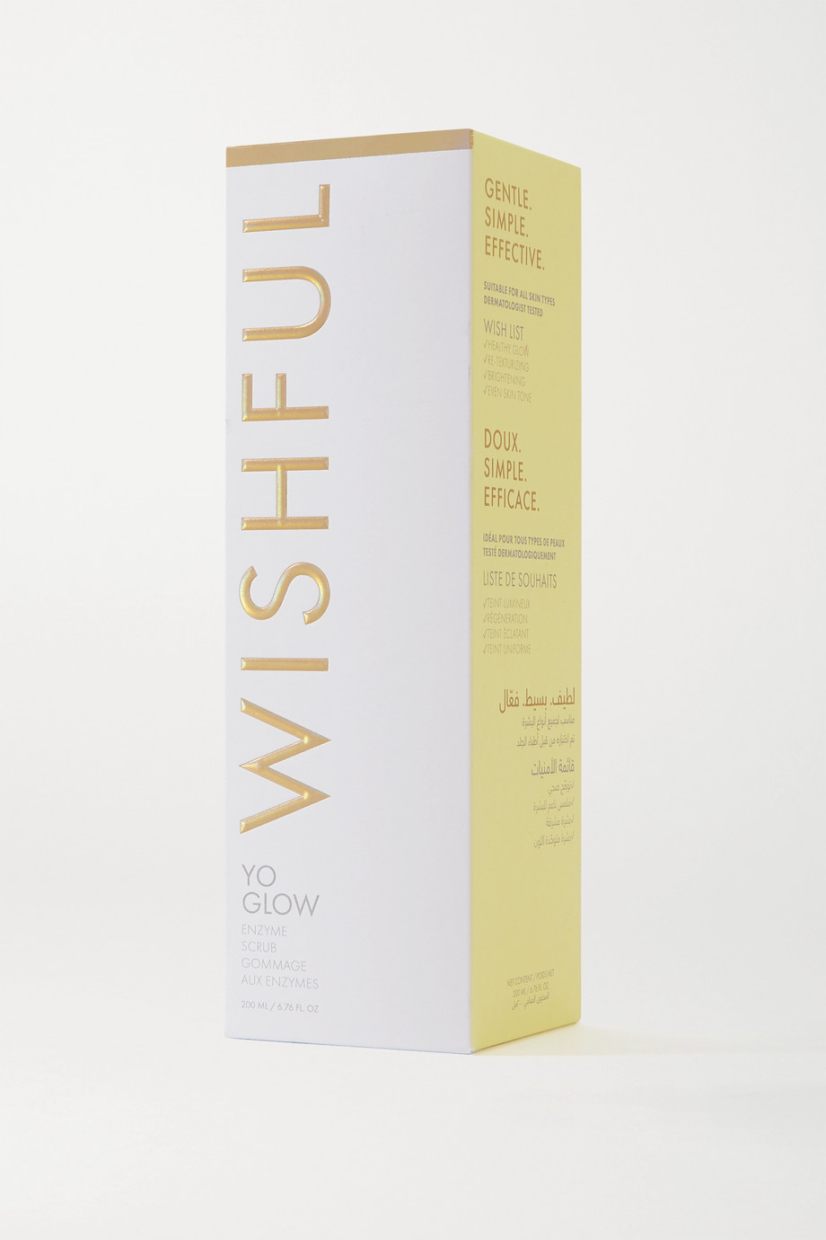 Huda Beauty Wishful Yo Glow Enzyme Scrub, 200ml