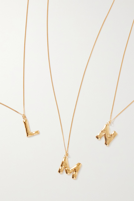 Completedworks Kette aus Gold-Vermeil
