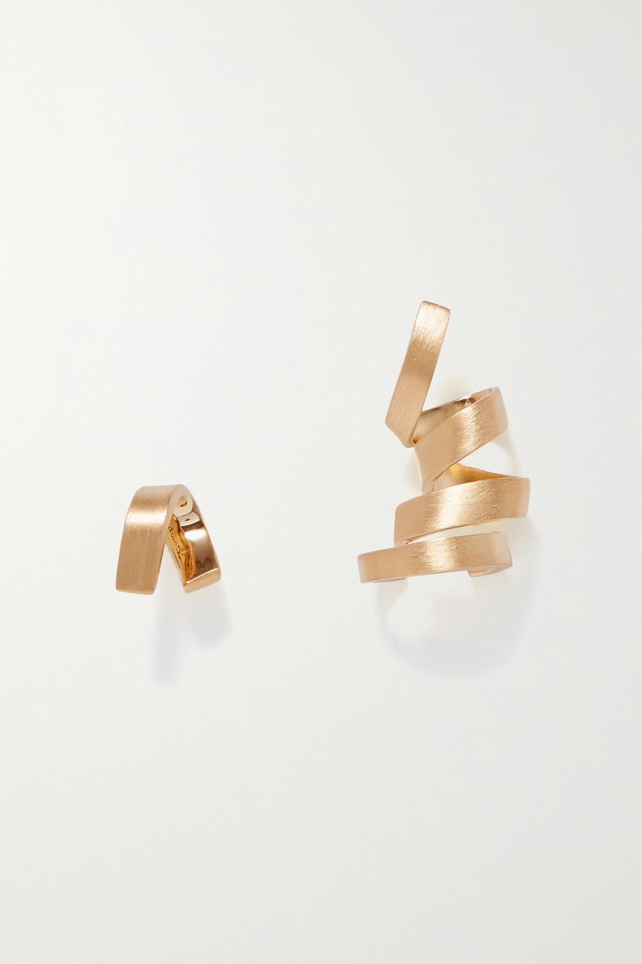 Completedworks Boucles d'oreilles en plaqué or