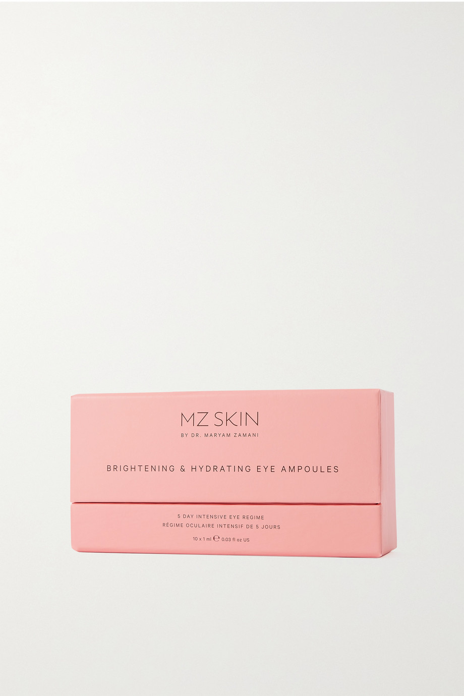 MZ Skin Brightening & Hydrating Eye Ampoules, 10 x 1ml