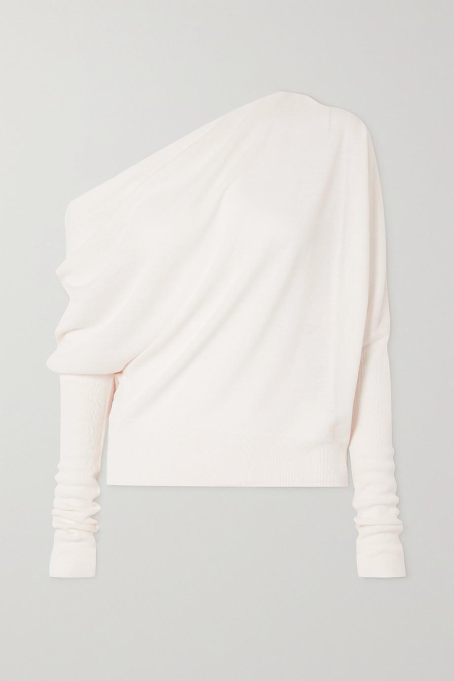 Altuzarra Granger Strickpullover mit asymmetrischer Schulterpartie