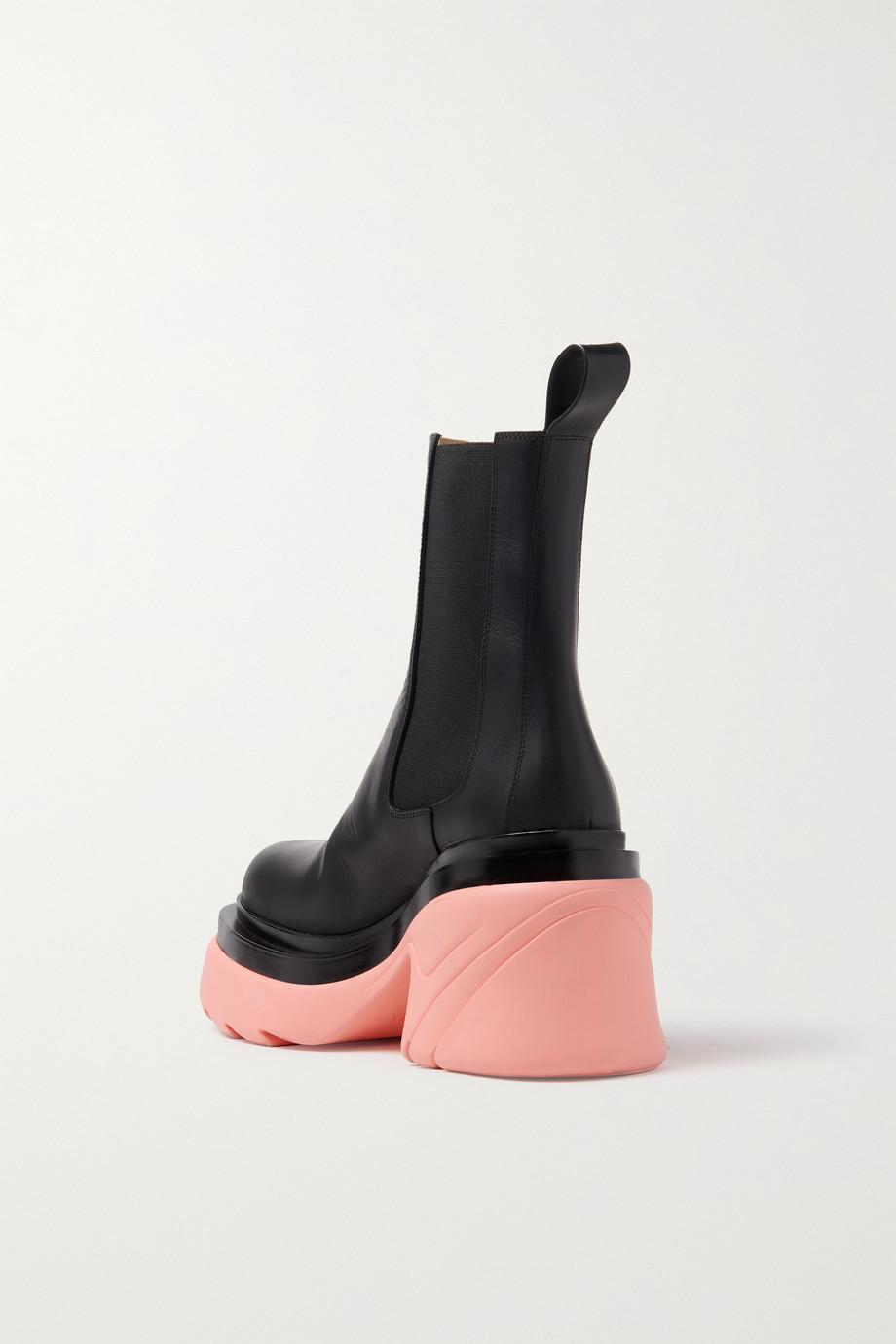 Bottega Veneta Leather platform Chelsea boots