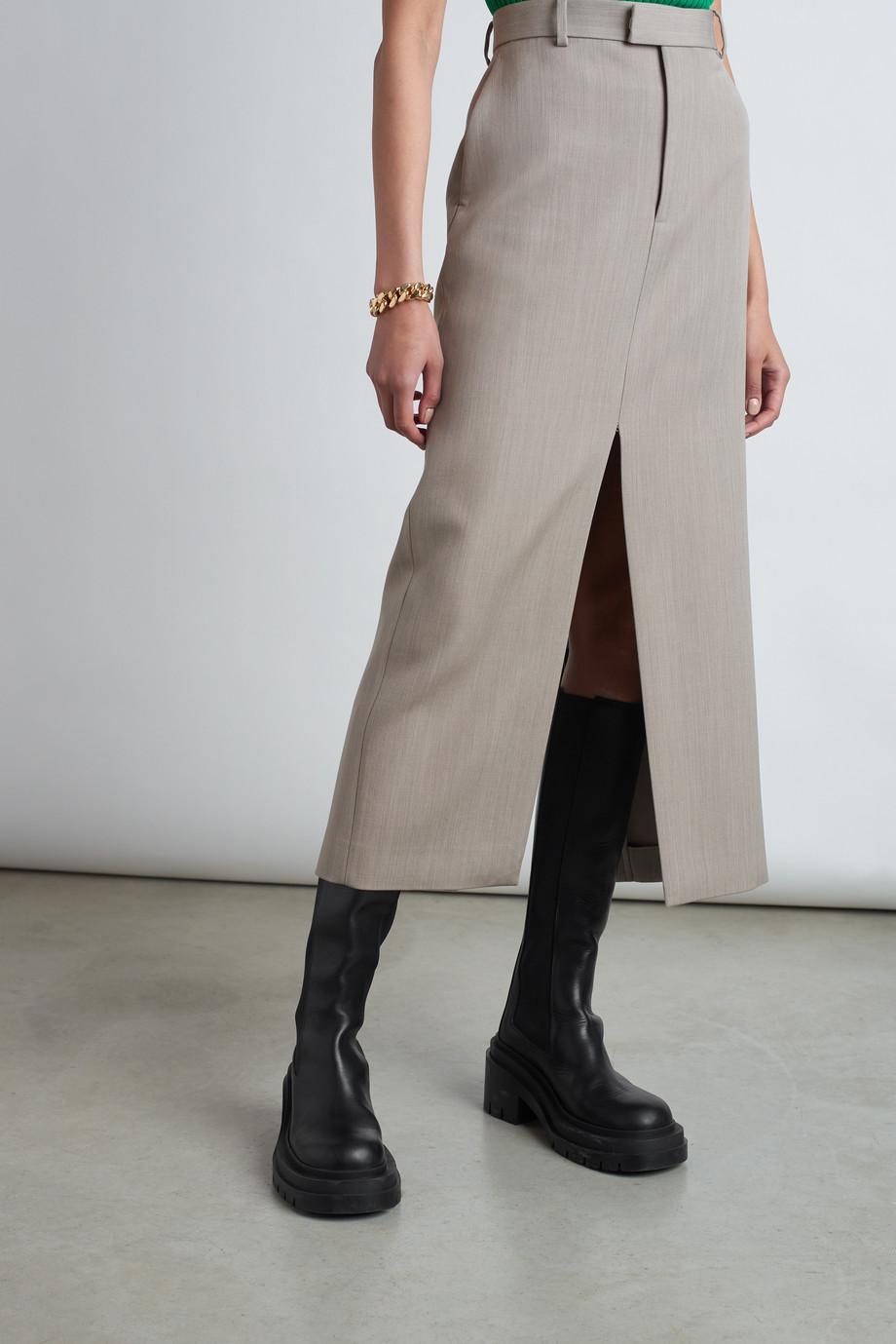 Bottega Veneta Leather knee boots