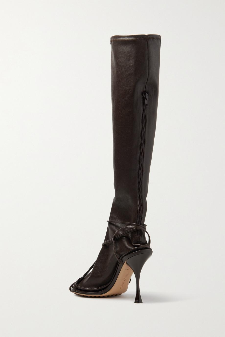 Bottega Veneta Convertible leather knee boots