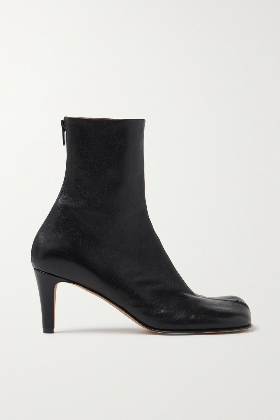 Bottega Veneta Bloc leather ankle boots