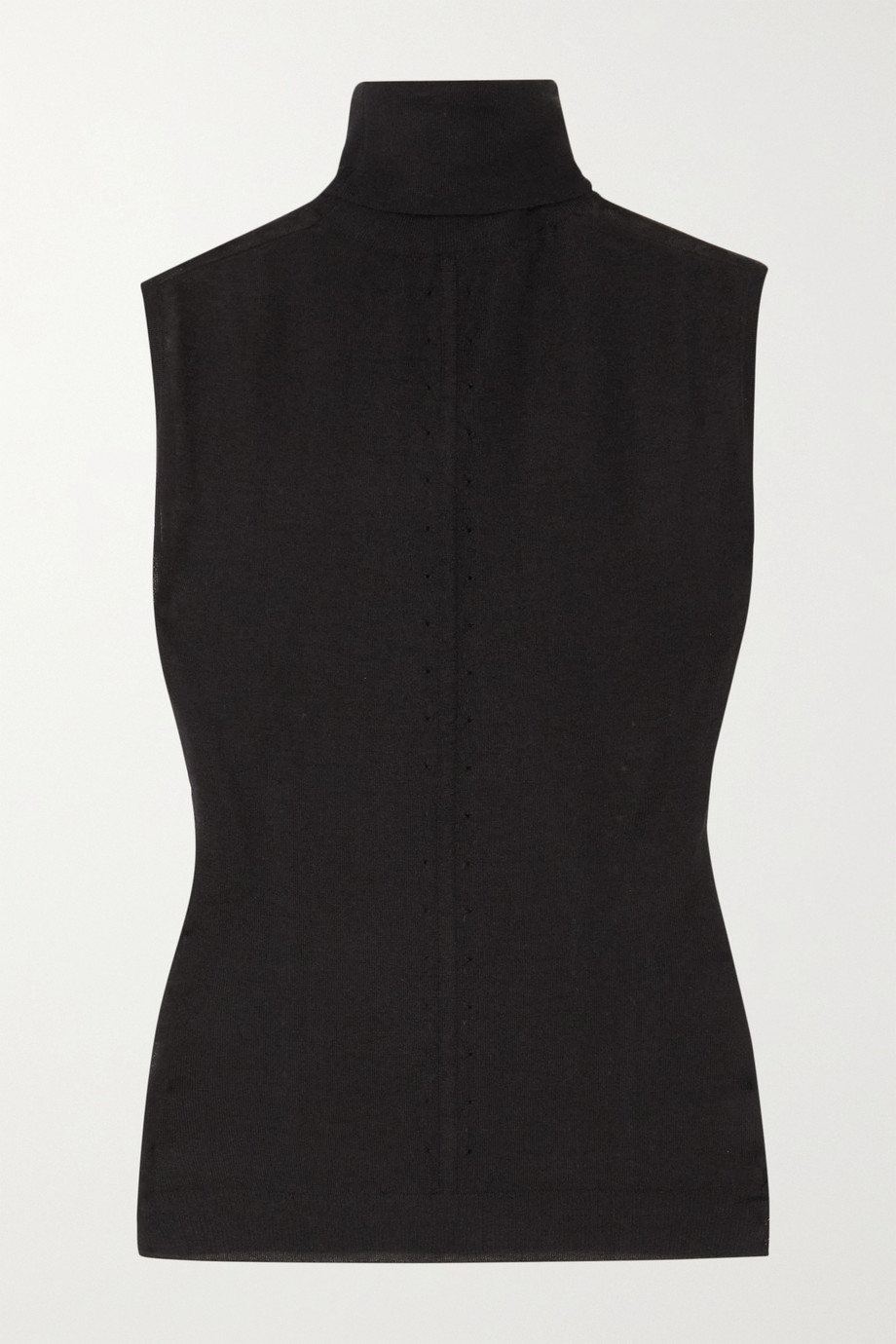 Alaïa Cashmere-blend turtleneck top