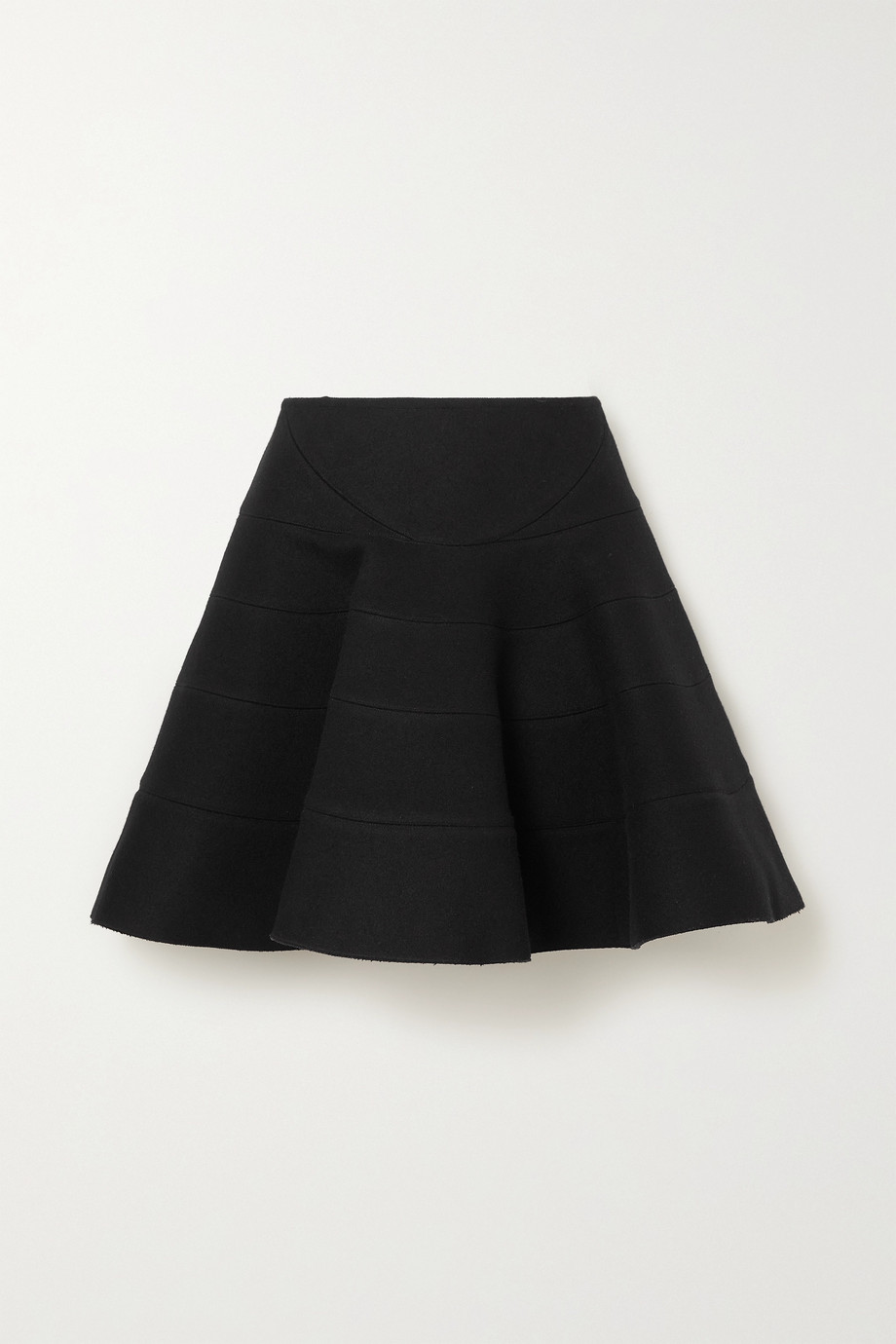 Alaïa Editions wool-blend mini skirt