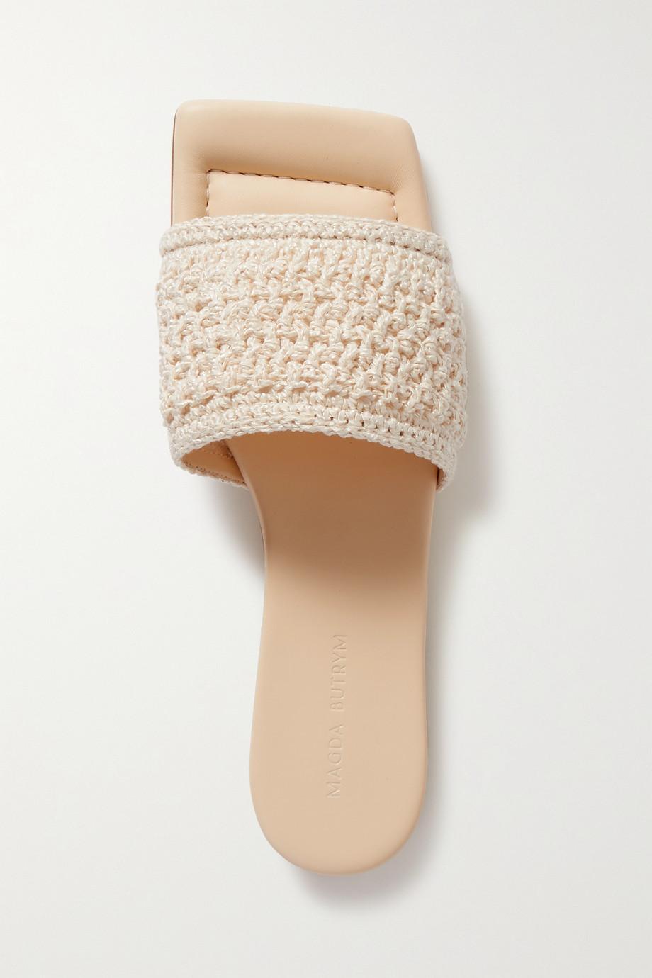 Magda Butrym Crochet slides