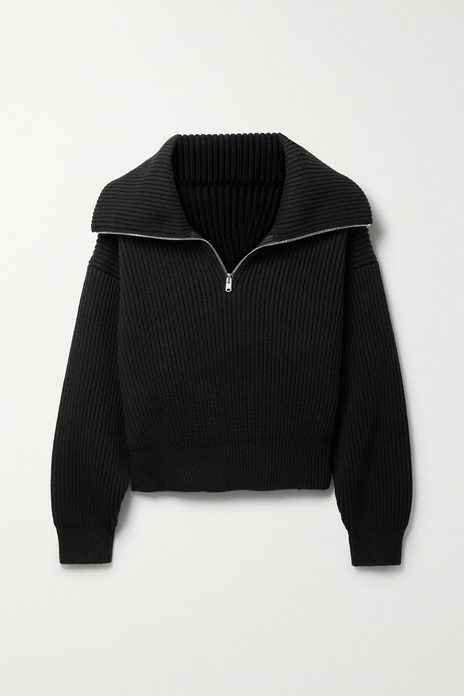 Alaïa Ribbed wool and cashmere-blend sweater