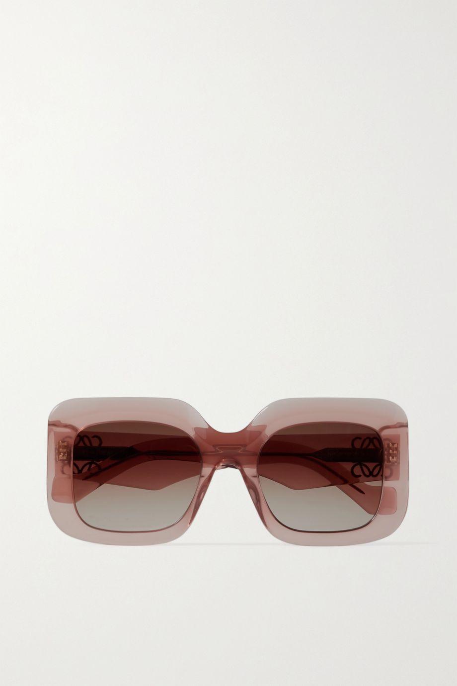 Loewe Oversized square-frame acetate sunglasses