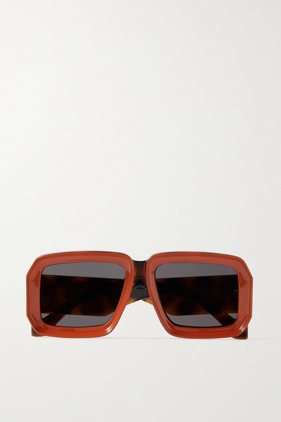 Loewe + Paula's Ibiza square-frame acetate sunglasses