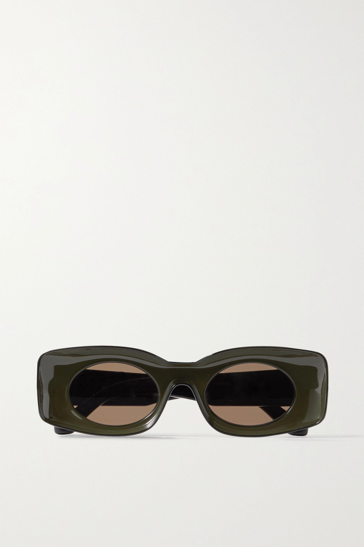 Loewe + Paula's Ibiza round-frame acetate sunglasses