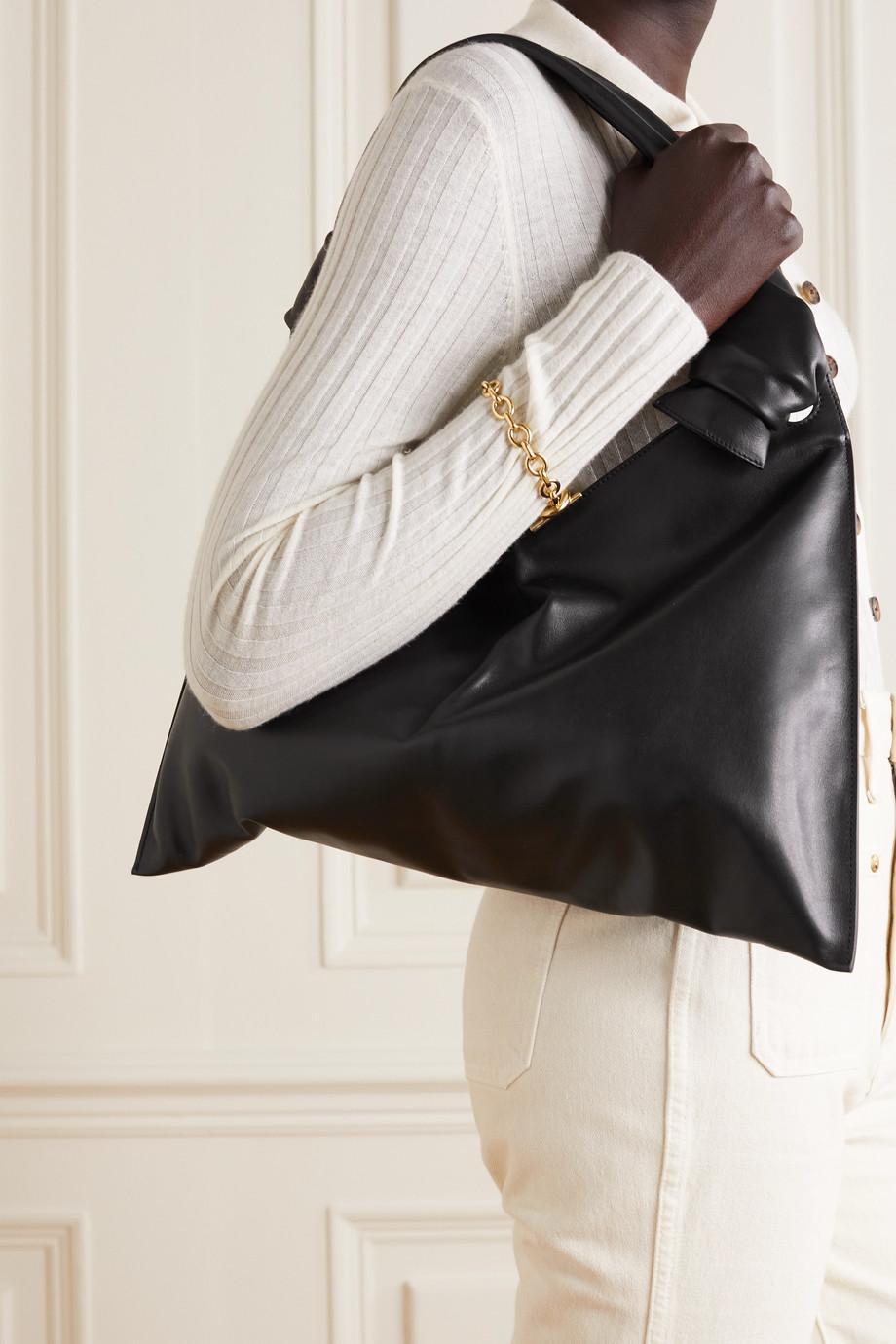 Little Liffner Knot Day leather shoulder bag